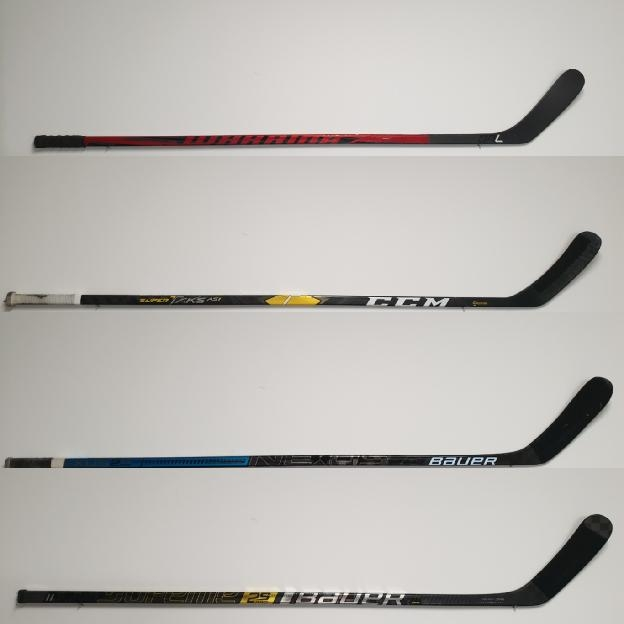 TOP hokejky s mírovým zahnutím L